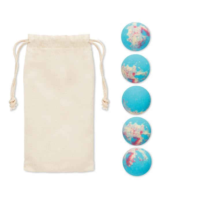 Набор шариков для ванны, многоцветный