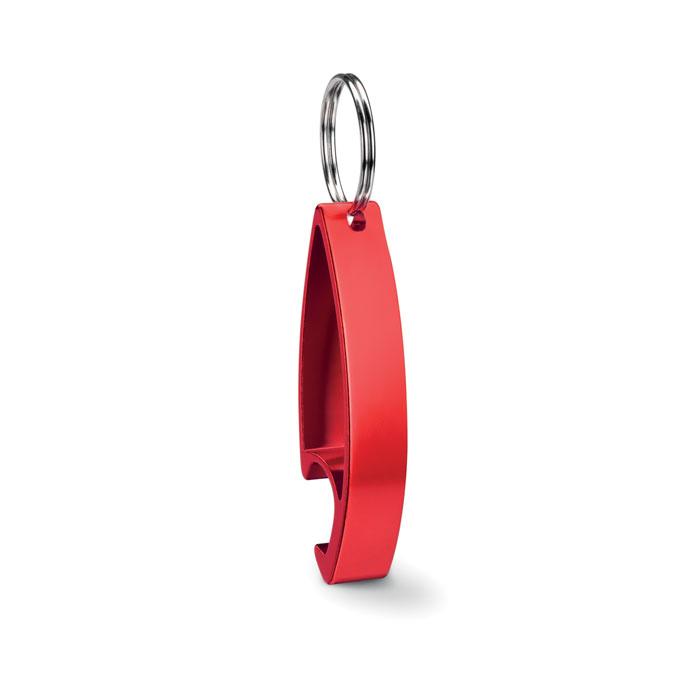 Брелок-открывалка, красный