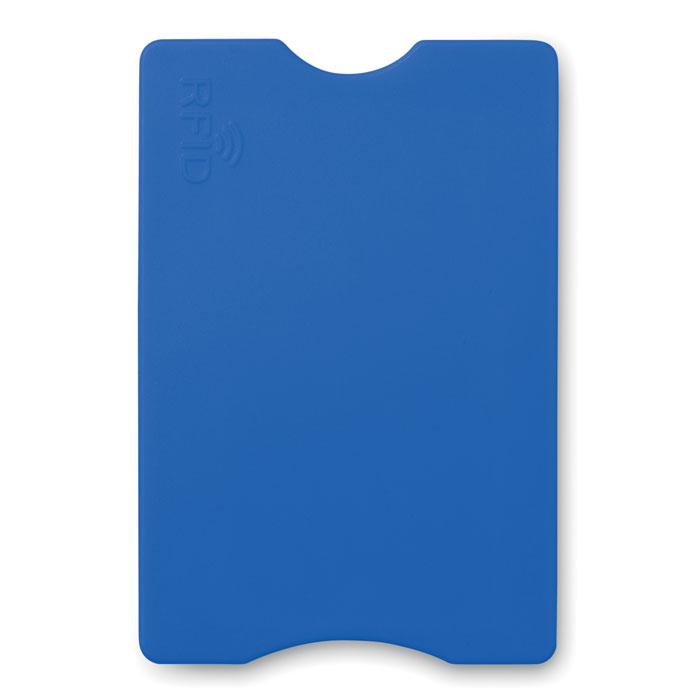 Защитный чехол для кредитки, синий