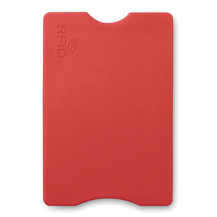 Защитный чехол для кредитки, красный
