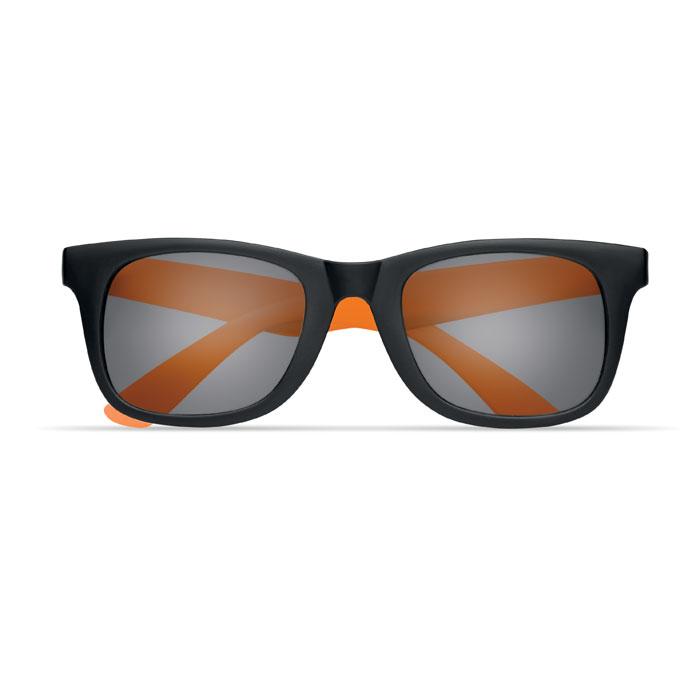 Очки солнечные, оранжевый