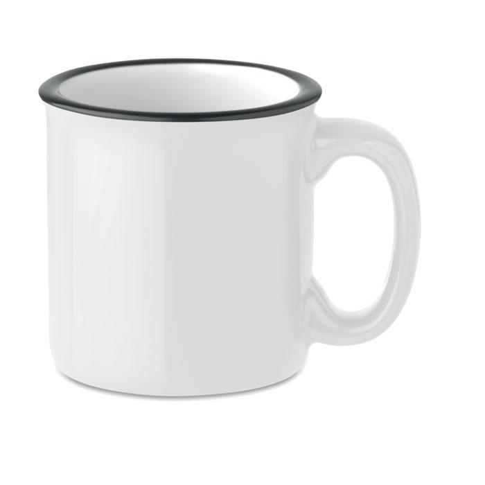 Кружка керамическая, белый