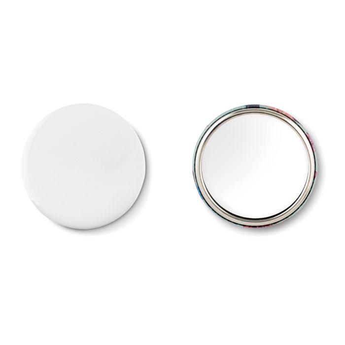 Зеркальце, тускло-серебряный