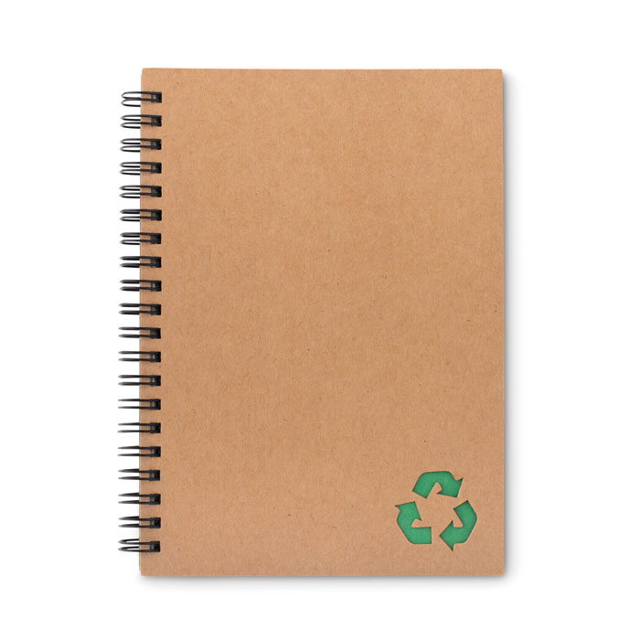 Блокнот на резинке 70стр линова, зеленый-зеленый