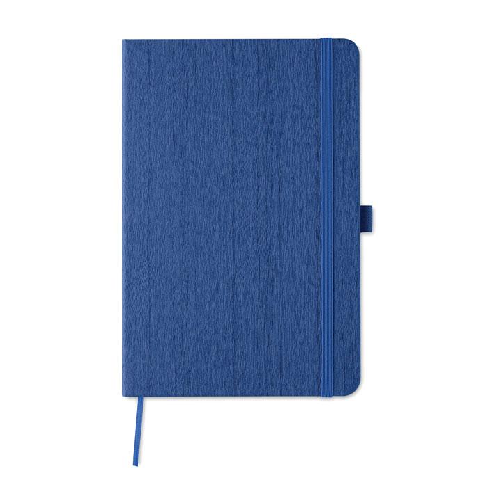 Блокнот А5 из ПУ с петелькой, королевский синий