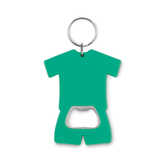 Брелок открывалка, зеленый-зеленый