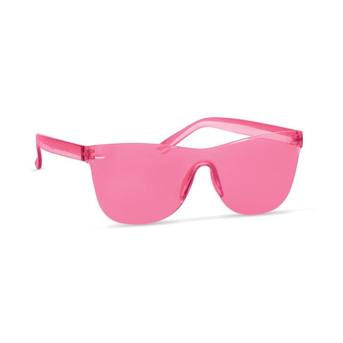 Солнцезащитные очки, прозрачно-красный
